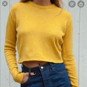 Brandy Melville Germany Sweater Yellow